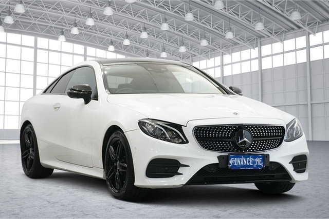 Used Mercedes-Benz E-Class C238 E220 d 9G-Tronic PLUS Victoria Park, 2017 Mercedes-Benz E-Class C238 E220 d 9G-Tronic PLUS White 9 Speed Sports Automatic Coupe