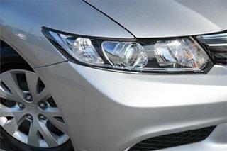 2012 Honda Civic 9th Gen Ser II VTi Silver 5 Speed Sports Automatic Sedan.