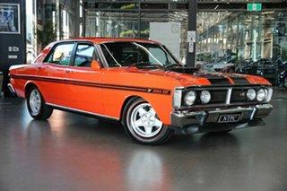 1970 Ford Falcon XY GT Red 4 Speed Manual Sedan.