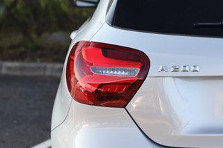 2016 Mercedes-Benz A-Class W176 806MY A200 DCT Polar Silver 7 Speed Sports Automatic Dual Clutch