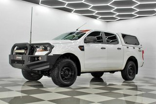2016 Ford Ranger PX MkII MY17 XL 2.2 (4x4) White 6 Speed Automatic Crew Cab Utility