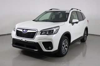 2019 Subaru Forester MY20 2.5I (AWD) White Continuous Variable Wagon.