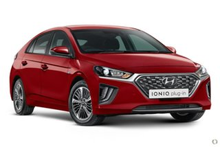 2021 Hyundai Ioniq AE.V4 MY21 plug-in DCT Elite Red 6 Speed Sports Automatic Dual Clutch Fastback