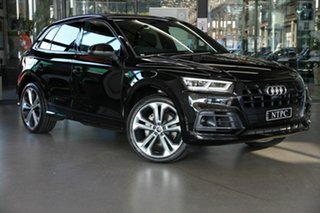 2019 Audi Q5 FY MY19 50 TDI Sport Tiptronic Quattro Black Edition Black 8 Speed Sports Automatic.