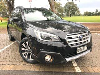 2016 Subaru Outback B6A MY16 2.5i CVT AWD Premium Black 6 Speed Constant Variable Wagon.