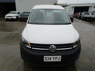 2018 Volkswagen Caddy 2KN MY19 TSI220 SWB DSG White 7 Speed Sports Automatic Dual Clutch Van.