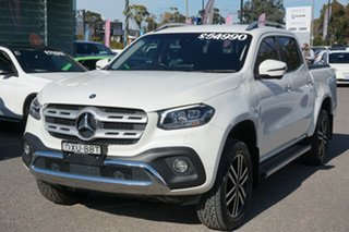 2018 Mercedes-Benz X-Class 470 X250d 4MATIC Power White 7 Speed Sports Automatic Utility