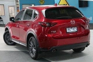 2018 Mazda CX-5 MY18 (KF Series 2) Maxx Sport (4x4) Red 6 Speed Automatic Wagon.