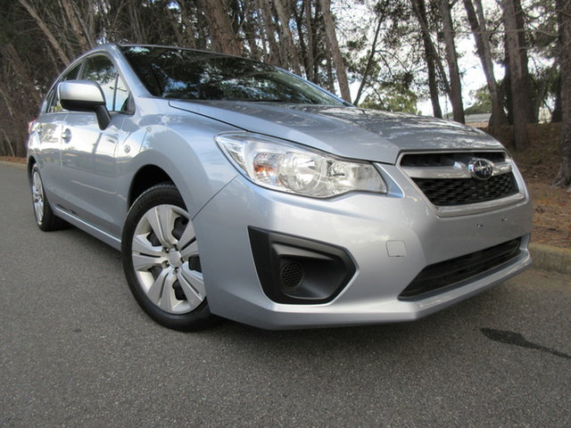 Used Subaru Impreza G4 MY12 2.0i Lineartronic AWD Reynella, 2012 Subaru Impreza G4 MY12 2.0i Lineartronic AWD Ice Silver 6 Speed Constant Variable Hatchback