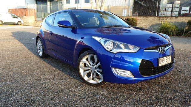 Used Hyundai Veloster FS + Underwood, 2012 Hyundai Veloster FS + Blue 6 Speed Manual Coupe