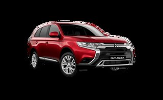 2021 Mitsubishi Outlander ZL MY21 ES AWD Red Diamond 6 Speed Constant Variable Wagon.