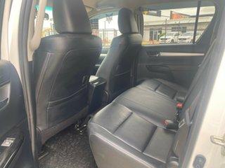 2017 Toyota Hilux GUN126R SR5 Double Cab White/090517 6 Speed Sports Automatic Utility