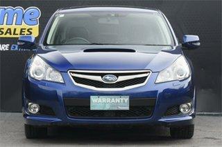 2010 Subaru Liberty B5 MY10 GT AWD Premium Blue 5 Speed Sports Automatic Sedan.