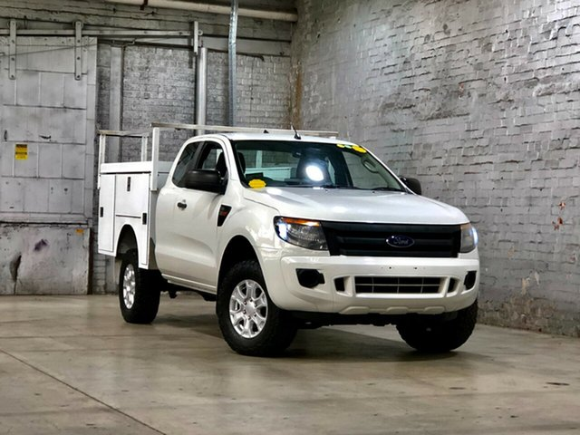 Used Ford Ranger PX XL Mile End South, 2014 Ford Ranger PX XL White 6 Speed Manual Cab Chassis