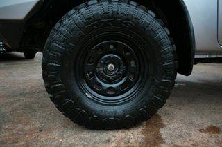 2013 Mazda BT-50 MY13 GT (4x4) Silver 6 Speed Manual Dual Cab Utility.