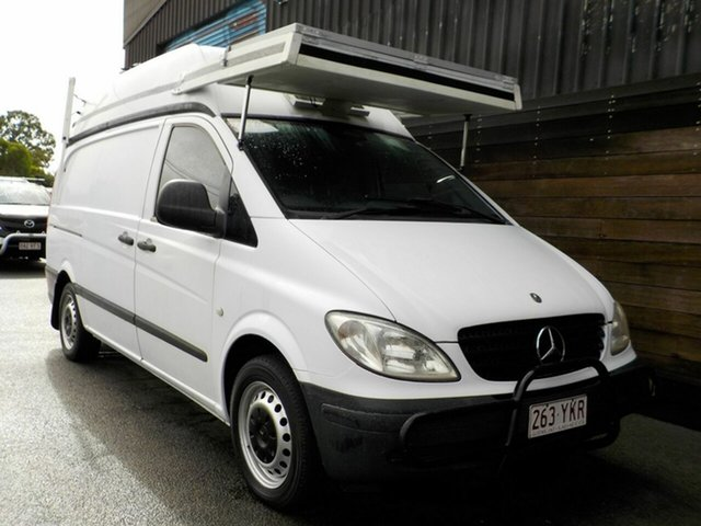 Used Mercedes-Benz Vito 639 109CDI High Roof Long Labrador, 2006 Mercedes-Benz Vito 639 109CDI High Roof Long White 6 Speed Manual Van
