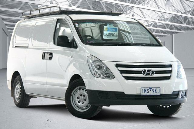 Used Hyundai iLOAD TQ Series II (TQ3) MY1 3S Liftback Altona North, 2017 Hyundai iLOAD TQ Series II (TQ3) MY1 3S Liftback White 5 Speed Automatic Van