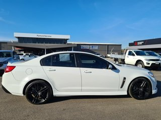 2014 Holden Commodore VF MY14 SS White 6 Speed Sports Automatic Sedan.