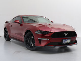 2018 Ford Mustang FN Fastback 2.3 GTDi Red 6 Speed Manual Coupe.