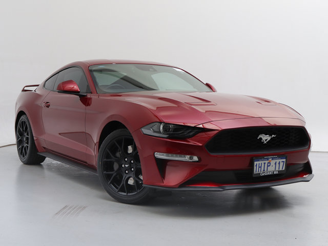Used Ford Mustang FN Fastback 2.3 GTDi, 2018 Ford Mustang FN Fastback 2.3 GTDi Red 6 Speed Manual Coupe
