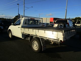 2012 Isuzu D-MAX MY12 SX White 5 Speed Sports Automatic Cab Chassis.