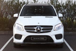 2018 Mercedes-Benz GLE-Class W166 MY808+058 GLE250 d 9G-Tronic 4MATIC Polar White 9 Speed