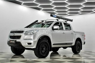 2016 Holden Colorado RG MY16 LS (4x4) Silver 6 Speed Manual Crew Cab Pickup
