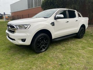 2019 Ford Ranger PX MkIII MY19 XLT 3.2 (4x4) White 6 Speed Automatic Double Cab Pick Up.