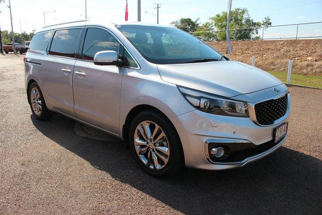 Pre-Owned Kia Carnival YP MY17 Platinum Darwin, 2017 Kia Carnival YP MY17 Platinum Premium Silver 6 Speed Sports Automatic Wagon