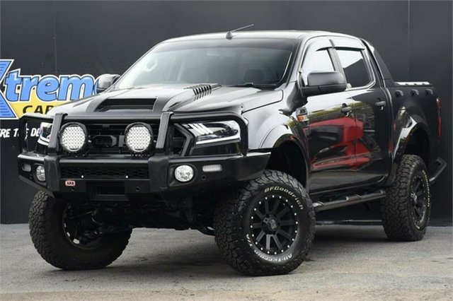 Used Ford Ranger PX MkII XLS Campbelltown, 2016 Ford Ranger PX MkII XLS Black 6 Speed Sports Automatic Utility