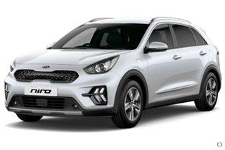 2021 Kia Niro DE 21MY PHEV DCT 2WD S White 6 Speed Sports Automatic Dual Clutch Wagon Hybrid