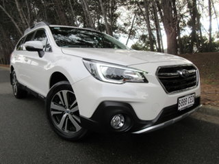 2019 Subaru Outback B6A MY20 2.5i CVT AWD White 7 Speed Constant Variable Wagon.