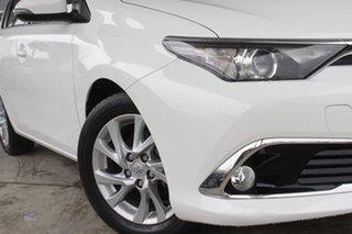 2015 Toyota Corolla ZRE182R Ascent Sport S-CVT Glacier White 7 Speed Constant Variable Hatchback.