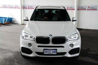 2015 BMW X5 F15 MY15 sDrive 25D White 8 Speed Automatic Wagon.