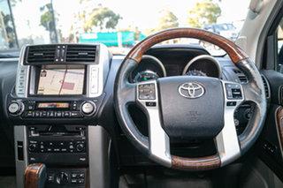 2009 Toyota Landcruiser Prado KDJ150R Kakadu Steel 5 Speed Sports Automatic Wagon