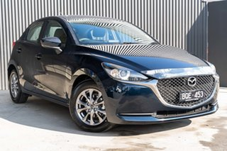 2021 Mazda 2 Mazda2 Deep Crystal Blue Hatchback.