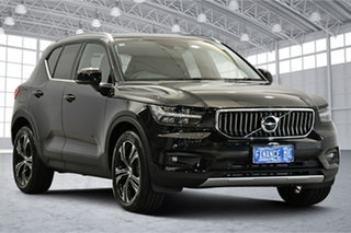 2020 Volvo XC40 XZ MY21 T4 AWD Inscription Black Stone 8 Speed Sports Automatic Wagon.