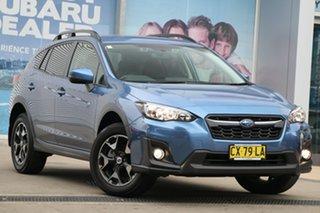 2019 Subaru XV MY19 2.0I-L Quartz Blue Continuous Variable Wagon.