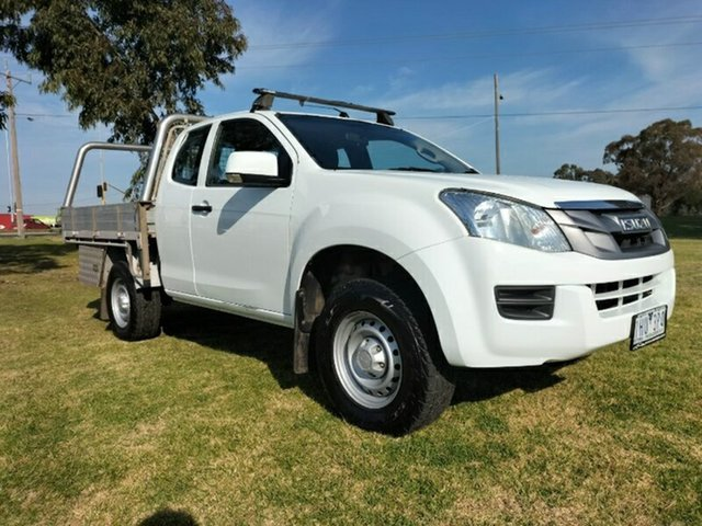 Used Isuzu D-MAX MY15 SX Space Cab 4x2 High Ride Melton, 2016 Isuzu D-MAX MY15 SX Space Cab 4x2 High Ride Splash White 5 Speed Sports Automatic Utility