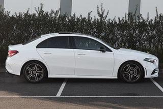 2019 Mercedes-Benz A-Class V177 800MY A200 DCT Polar White 7 Speed Sports Automatic Dual Clutch
