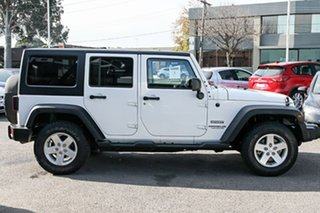 2014 Jeep Wrangler JK MY2015 Unlimited Sport White 6 Speed Manual Softtop.
