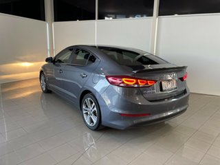 2017 Hyundai Elantra AD MY18 Elite Grey 6 Speed Sports Automatic Sedan.