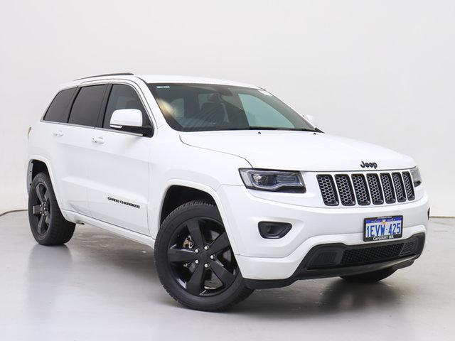 Used Jeep Grand Cherokee WK MY15 Blackhawk (4x4), 2015 Jeep Grand Cherokee WK MY15 Blackhawk (4x4) White 8 Speed Automatic Wagon