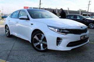 2016 Kia Optima JF MY16 GT White 6 Speed Sports Automatic Sedan.