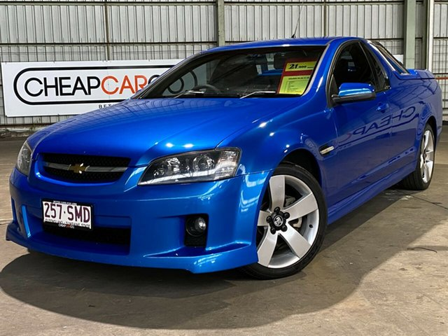 Used Holden Ute VE MY10 SS V Rocklea, 2009 Holden Ute VE MY10 SS V Blue 6 Speed Manual Utility