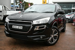 2016 Peugeot 4008 MY15 Active (4x2) Black 6 Speed CVT Auto Sequential Wagon.