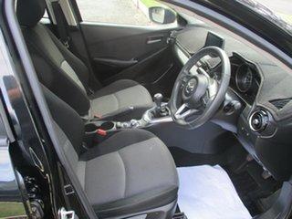 2017 Mazda 2 DL2SA6 Maxx SKYACTIV-MT Black 6 Speed Manual Sedan
