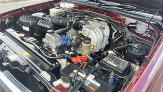 1999 Toyota Landcruiser FZJ105R GXL Red 5 Speed Manual Wagon