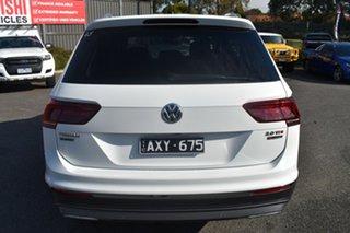 2018 Volkswagen Tiguan 5N MY18 140TDI Highline DSG 4MOTION Allspace White 7 Speed.