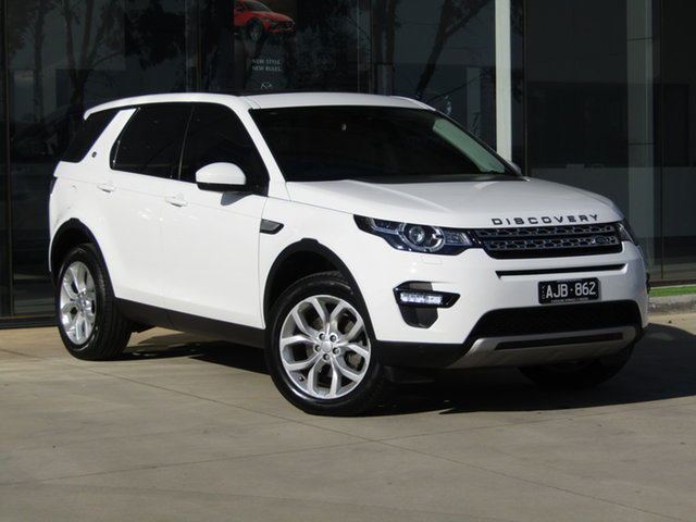 Used Land Rover Discovery Sport L550 16.5MY HSE Ravenhall, 2016 Land Rover Discovery Sport L550 16.5MY HSE White 9 Speed Sports Automatic Wagon
